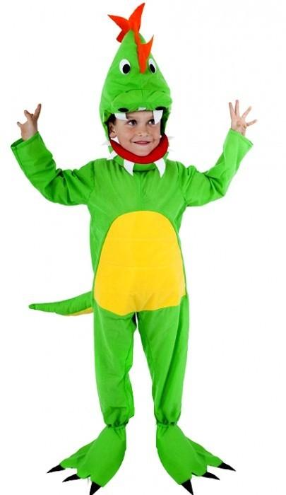 Karnevalový kostým Dinosaurus - velikost S 882317
