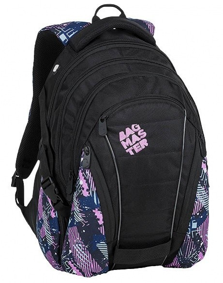 945ef0d340 Bagmaster Studentský batoh Bagmaster - Bag 9 A - Pink Petrol Black