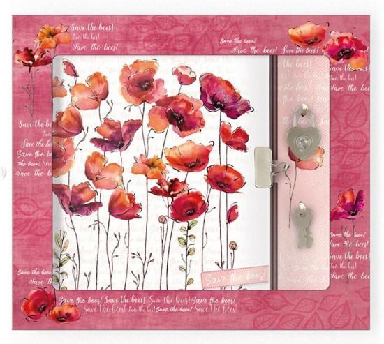 Argus Zápisník se zámkem - Save the Bees - 1442-0295