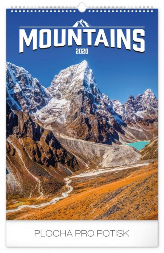 Kalendář nástěnný - Hory 33 × 46 cm PGN-6633-L