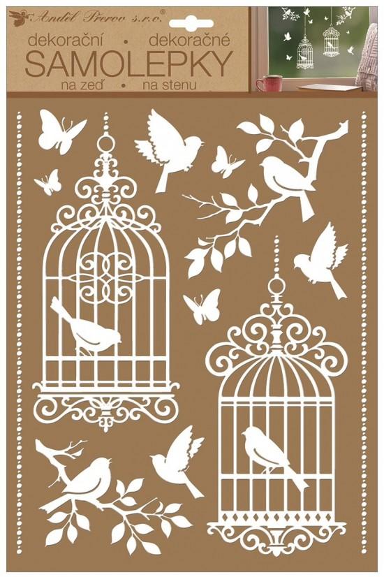 malé elegantní velké ptáky