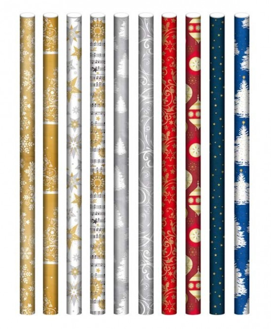 Ditipo Vánoční papír - Lux - role - 2 m x 70 cm - 100 ks - 2039919