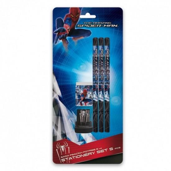 Karton P+P Blistr psací potřeby 5 ks Spiderman 3-549