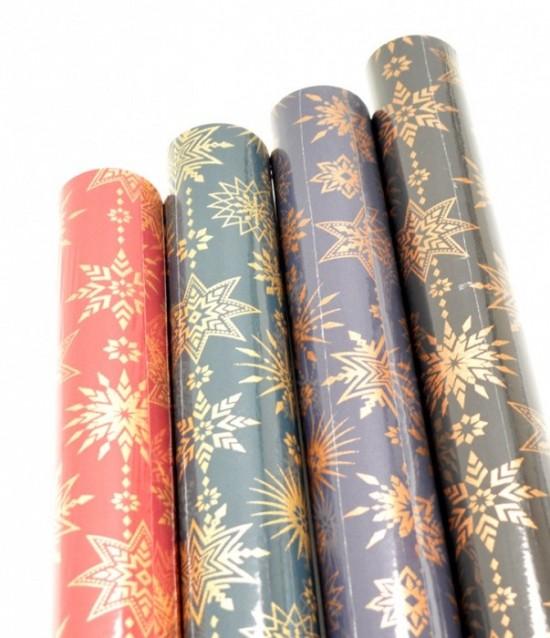 Vánoční papír - Touch Of Christmas - 1,5 x 0,7 m - 20 ks