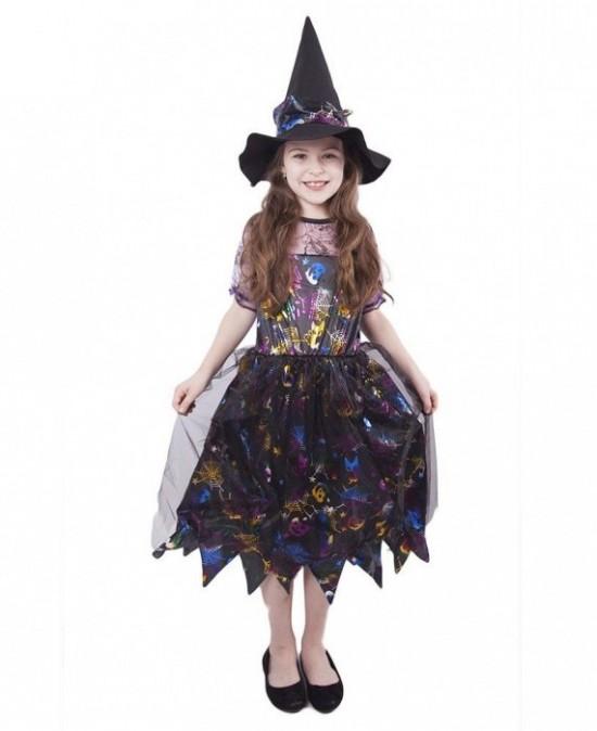 Karnevalový kostým - Čarodějnice - vel. S - 841925