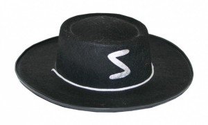 Klobouk Zorro - dětský 590168