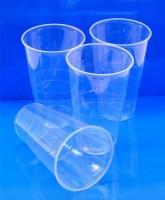 Kelímek plastový průhledný 0,5 l - (? 95 mm) - 73216