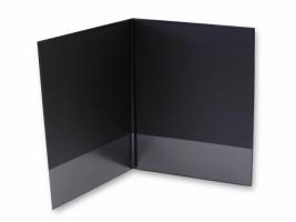 Desky se záložkou 80 mm - černé