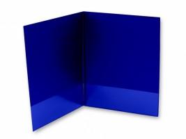 Desky se záložkou 80 mm - modré