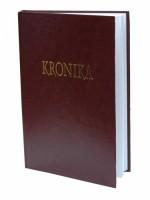 Kronika 100 listů - hnědá Hospa
