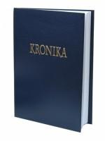 Kronika 100 listů - modrá Hospa