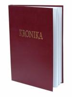 Kronika 100 listů - červená Hospa