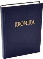 Kronika A4 200 listů - modrá Hospa