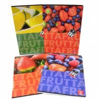 Školní sešit A4, linka - Pigna Fruits 2501