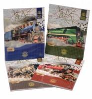 Trhací zápisník 90 x 120 mm - Train - Argus - 1111-0262