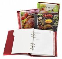 Kniha na recepty A5 karis