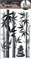 Pokojová dekorace šedý bambus - 10015