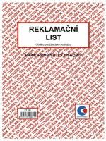 Reklamační list A5 samopropis. tiskopis PT190