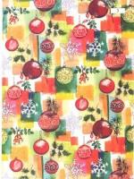 Vánoční papír - Vánoční ozdoby č.7 - Lika - 150 ks