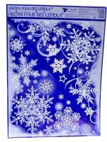 Okenní fólie - vánoční - rohová 339