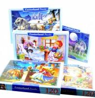 Puzzle Castorland - 120 dílků - různé motivy - CC120