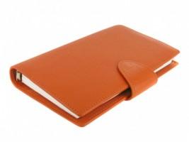 Diář Filofax  Calipso, Compact - oranžová 22426