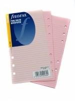 Náplň Filofax - Osobní - linkovaný růžový