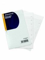Náplň Filofax - Osobní - linkovaný bílý