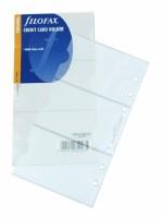 Náplň Filofax - Osobní - Pouzdro na 3 kreditní karty