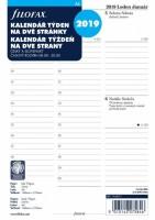 Kalendář Filofax A5 - týden / 2 strany 2019 - 6857119