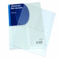Náplň Filofax - A5 - Na kreditní karty