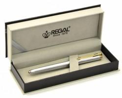 Psací souprava Regal - Harmonia - plnicí pero - stříbrná - 22008F