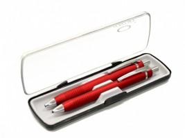 Psací souprava Ambition - červená - kuličkové pero a mikrotužka - KP+MT A58569