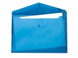 Desky s drukem a klopou A4 modré