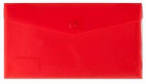 Desky s drukem a klopou DL červené