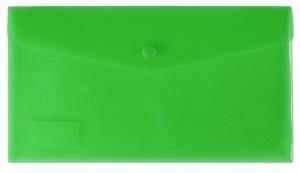 Desky s drukem a klopou DL zelené