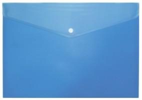 Desky s drukem a klopou A7 modré
