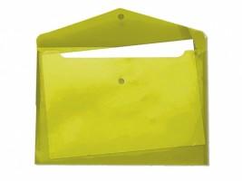 Desky s drukem a klopou A5 žluté