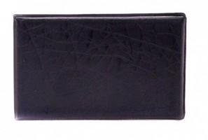 Vizitkář 1 řadý 20 ks vizitek - černý - 6-209