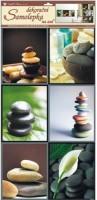 Pokojová dekorace kameny s anturií - 10029