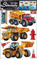 Pokojová dekorace stavební stroje - 10035