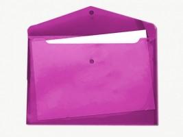 Desky s drukem a klopou A4 růžové