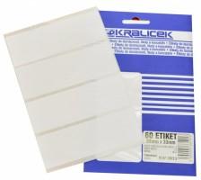 Etikety v sáčku 99 x 33 mm 60 ks EW9933
