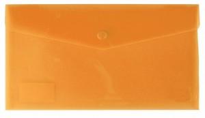 Desky s drukem a klopou DL oranžové