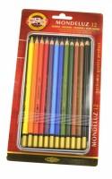 Akvarelové pastelky KOH-I-NOOR souprava 12 ks  3722