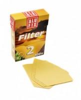 Filtry na kávu 2/100 Alu Fix
