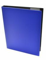 Kroužkový blok Karis A4 - modrý 1112M