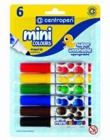 Značkovače Mini Colours - sada 6 ks 8070/6
