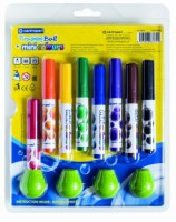 Značkovače Mini Colours - sada 8 ks  + 4 adaptéry 8070/8+4