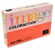 Kancelářský papír Image Coloraction A4 - 160g/m2, jahodová - 250 archů